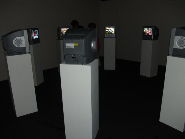 Ruido at the Steinersen Museum, Oslo, 2006