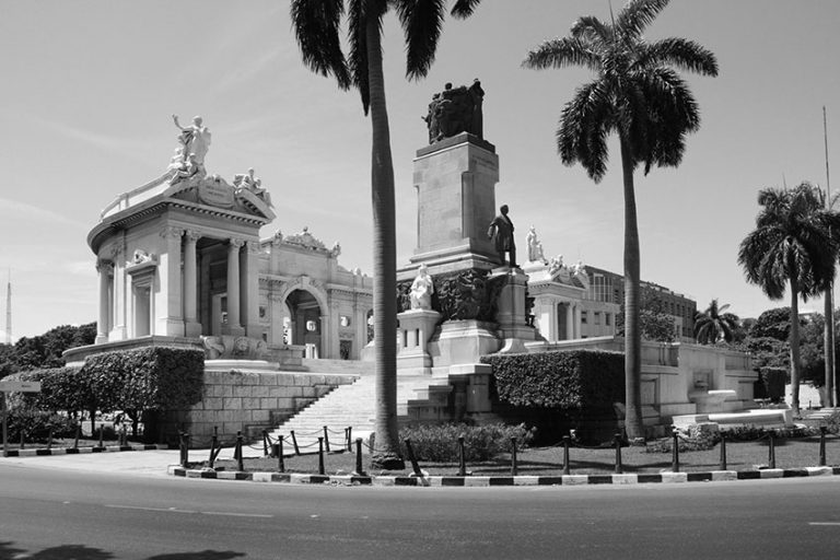 Monumental park dedicated to Juan Gualberto Gomez, Havana, Kuba
